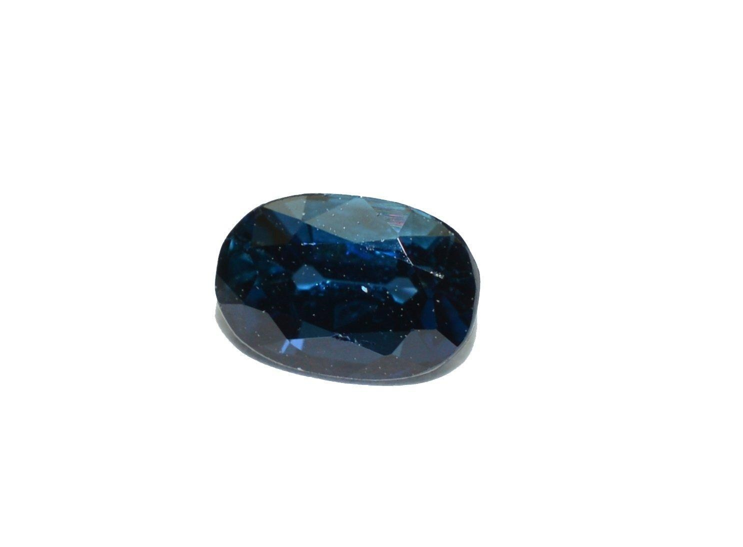 Blue Sapphire natural & facet cut gemstone 0.59 carat