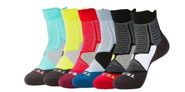 E-SideStep Men's Intensity Single Tab Socks (6-Pack)
