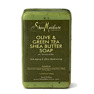 Shea Moisture Soap 8oz Bar Olive & Green Tea Shea Butter by Shea Moisture