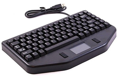 TG3 KBA-nBLTA USB Keyboard with Touchpad and Mouse Buttons