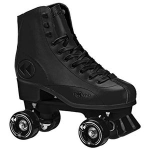 Rewind Traditional Indoor / Outdoor Skate Black Size 9 by Roller Derby
