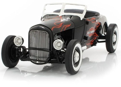 1929 Ford Hot Rod Harley Davidson 1/18 Diecast Car Model Highway 61 by Highway 61