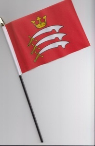 Middlesex County Hand Flag 25cm by 1000 Flags