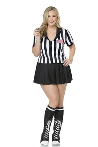 Mystery House Referee Plus Size