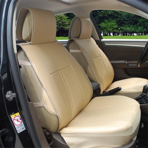 Online store 115901 black leather like 2 front car seat for Mercedes benz car seat cushion