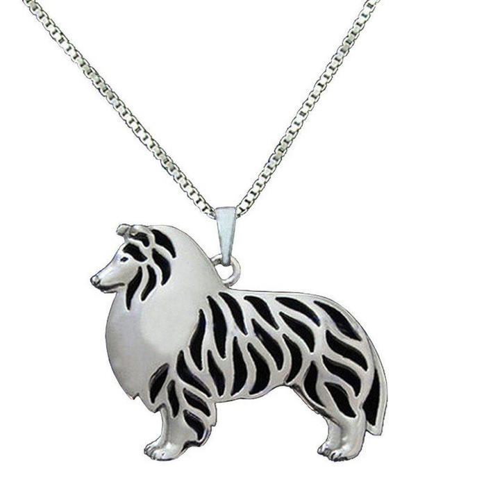 Online store us design rough collie pendant silver necklaces online store us design rough collie pendant silver necklaces animal dog charm handmade for pet lovers trendy tiny women fashion animal jewelry gift aloadofball Gallery