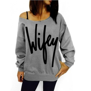 Off Shoulder Blouse, Misaky Women Casual Loose T-shirt Tops Long Sleeve Shirt (L, coffee)