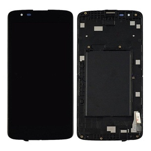 NEW LG K7 LG Tribute 5 LS675 LCD Display+Touch Digitizer Glass Assembly W/ Frame