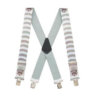 Suspender Store Mens Raccoon Suspenders