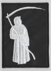 Grim Reaper La Muerte embroidered sew on patch