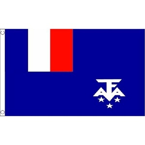 French Southern And Antarctic Lands Flag 5Ft X 3Ft National Banner New by French Southern and Antarctic Lands