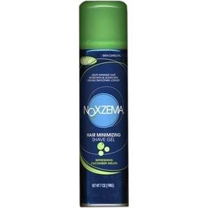 Noxzema Shaving Hair Minimizing Shave Gel, Refreshing Cucumber Melon, 7 oz by Noxzema Shaving
