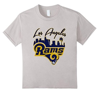 Kids LOS ANGELES R T-SHIRT 8 Silver