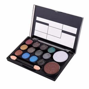 Binmer(TM) 14 Colors Makeup Shimmer Eyeshadow Palette Cosmetic Nude Warm Eye Shadow