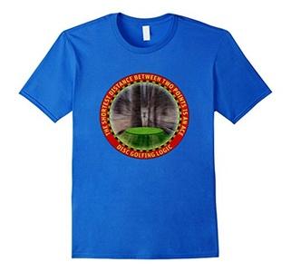 Men's Disc Golf Shirt Medium Royal Blue
