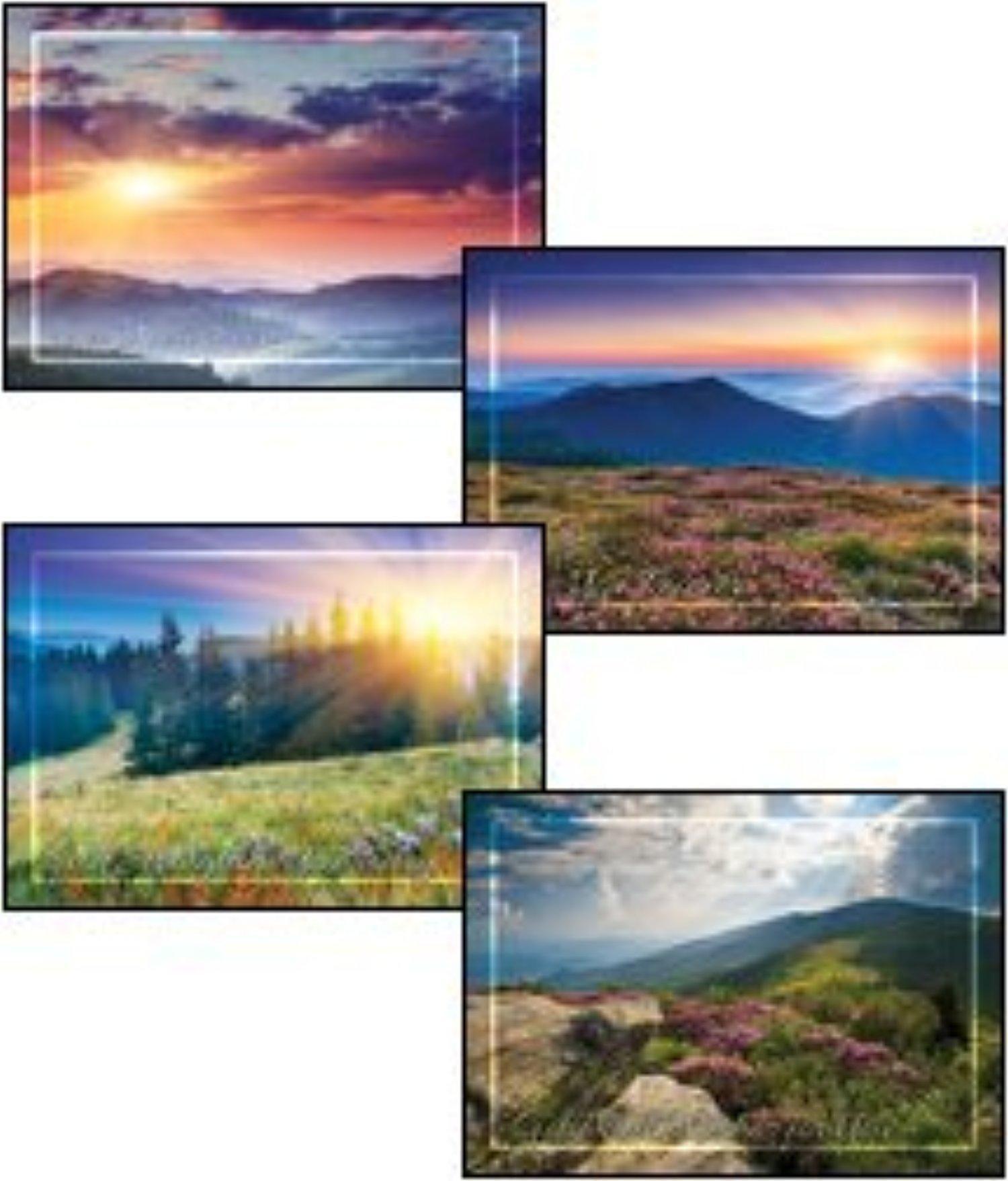 Online Store Peaceful Meadows Kjv Scripture Greeting Cards