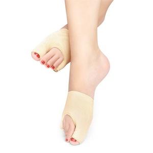 COJOY Bunion Relief Bootie Pads Sleeve Toe Straightener Corrector Regulator 2 Booties for Hallux Valgus, Pain Relief, Treatment