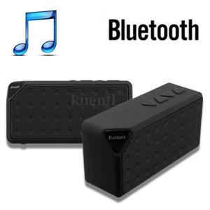 Black Bluetooth Wireless Speaker Mini SUPER BASS Portable For Smartphone/Tablet/Laptop