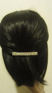 Crystal Rhinestone Hair Barrette Hair Clip 70mm MD