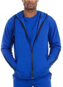 Royal Blue Apparel Men's Tech Fleece Athletic Zip Up Hoodie (Royal Blue Apparel, X-Large)