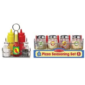 Melissa & Dog Pizza Seasoning Set and Condiment Set