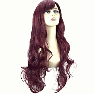 ELEGANT HAIR 22 Ladies Beautiful Full WIG Long Hair Piece LOOSE WAVES Cheryl Cole Red #99J by Elegant Hair