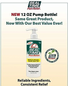 Real Time Pain Relief Lotion 12 Oz by Realtime