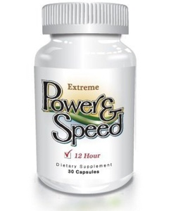 Power N Speed - 30 Capsules - Natural Energy Pills, Brain Boost, Focus and Memory Enhancement Herbal Vitamin Supplement for Men and Women by The Delgado Protocol for Health
