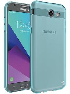 Galaxy J3 Emerge Case, LK Ultra [Slim Thin] Scratch Resistant TPU Rubber Soft Skin Silicone Protective Case Cover for Samsung Galaxy J3 Emerge (Mint)