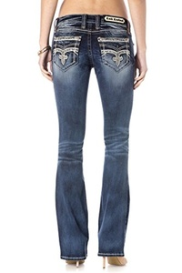 ROCK REVIVAL WOMEN'S PILKIN B18 BOOT CUT JEANS (29)
