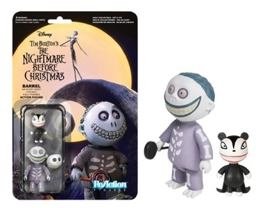 Barrel The Nightmare Before Christmas ReAction Figure by The Nightmare Before Christmas