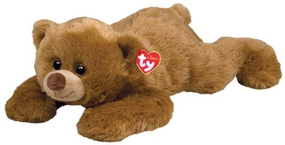 Ty Classic Plush Paws - Brown Bear by TY Classic Plush