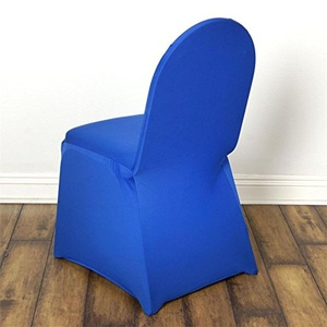 100 Royal Blue Spandex Banquet Chair Covers