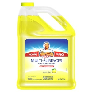 Mr. Clean Multi-Surfaces Summer Citrus Antibacterial Liquid Cleaner, 128 Fluid Ounce Bottle by Mr. Clean