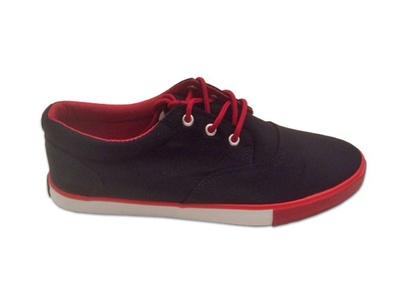 Hipster Mens Solid Skate Shoe (10, Black)