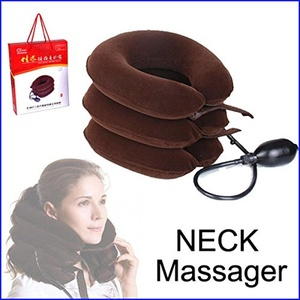 Petbly(TM) Cervical Vertebra Tractor Massager Nap Pillow Traction Massage Pillow Relief Neck Back Shoulder Pain