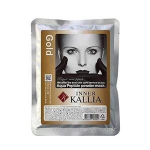 2000ml (1kg) Skin Care Gel Type Aqua Peptide Powder Modeling Mask Pack (Gold type) by innerkallia aqua peptide powder mask