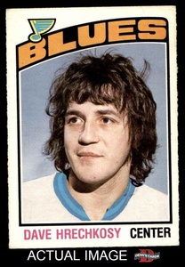1976 O-Pee-Chee NHL # 364 Dave Hrechkosy St. Louis Blues (Hockey Card) Dean's Cards 4 - VG/EX