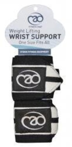 Fitness-Mad Weight Lifting Wrist Support Wrap - Black by Fitness Mad
