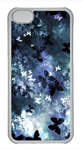 iPhone 5c case, Cute Butterflys iPhone 5c Cover, iPhone 5c Cases, Hard Clear iPhone 5c Covers
