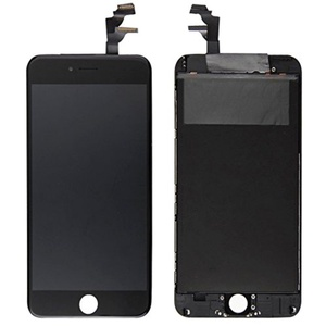 Cellphone Replacement Parts, iPartsBuy 3 in 1 for iPhone 6 Plus (Original LCD + Original Frame + Original Touch Pad) Screen Digitizer Assembly ( Color : Black )