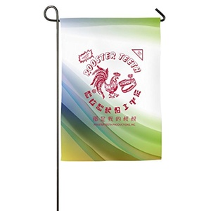 Particular Colored Chili Sauce Bottle Sriracha Hot Chili Sauce Beautiful Durable House Flag.