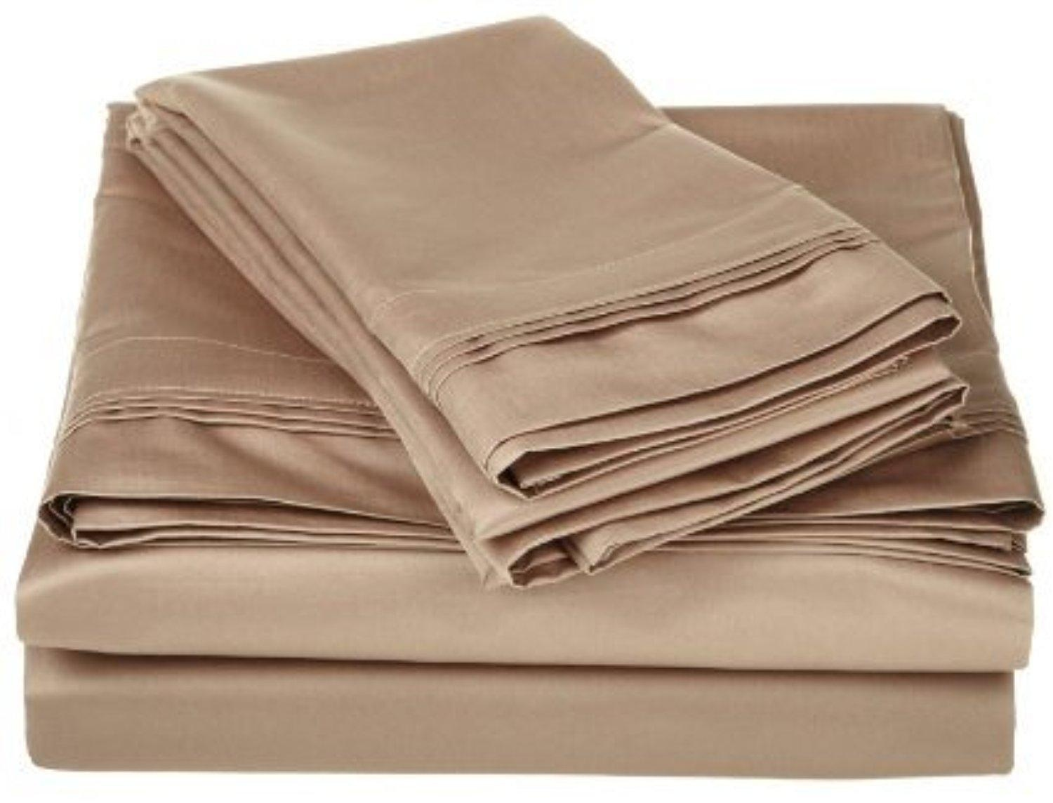 Extra deep pocket queen fitted sheets - Singh S Textiles 600 Thread Count 1pcs Fitted Sheet 18inch Extra Deep Pocket Queen