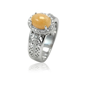 Accent Halo Art Deco Wedding Engagement Ring Oval Cut Simulated Agate Round CZ 925 Sterling Silver