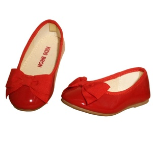 Kids Bron Mary Jane Casual Slip On Flat Shoes (Toddler/Little Girl) (6 M US Toddler, Red)