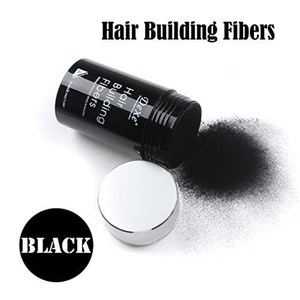 Easy to Use Lose Hair Building Fibers Black Color 22g by DeXe