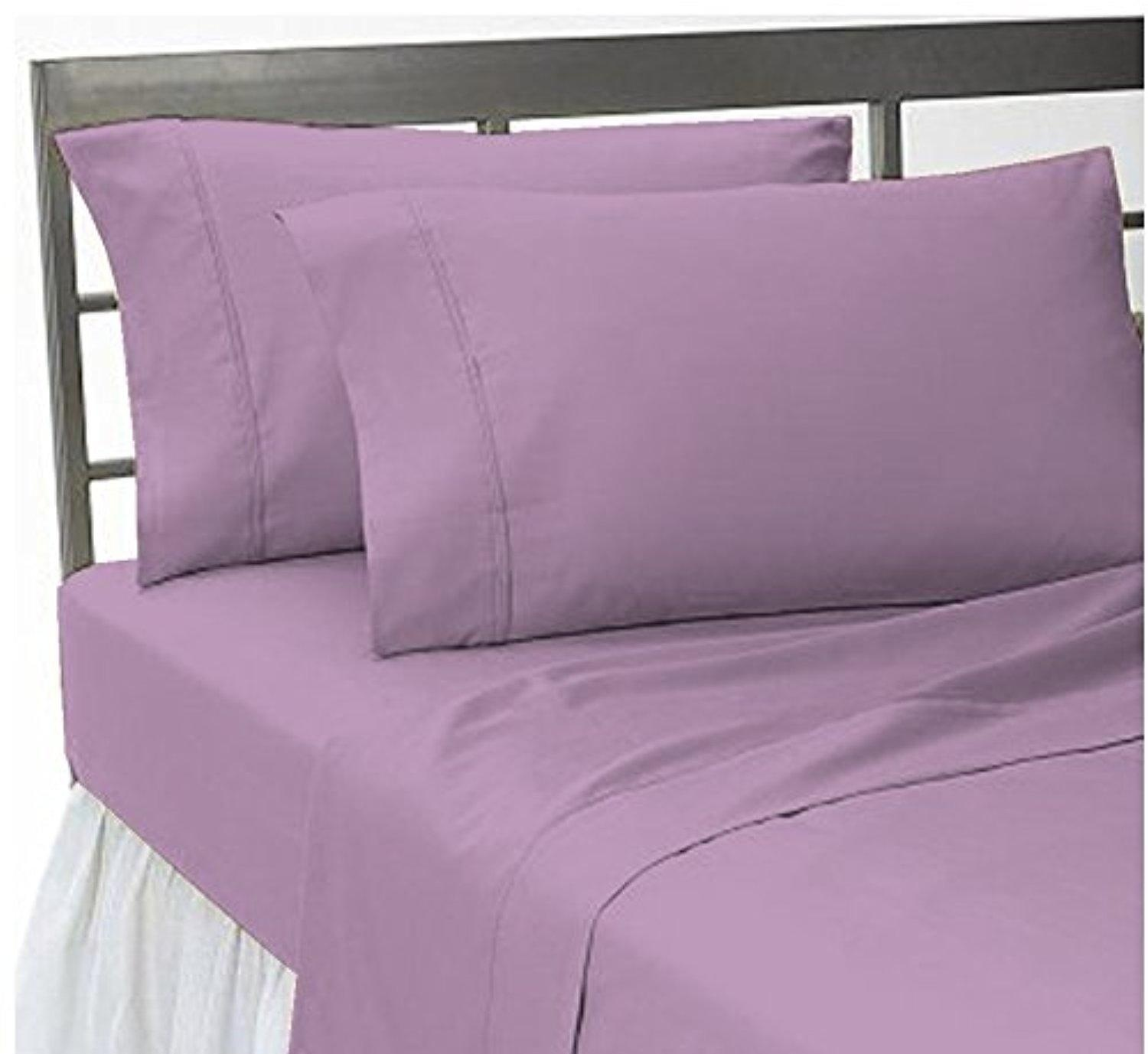 Online store bedding 39 s home solid pattern 100 egyptian for Best egyptian cotton bed sheets