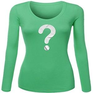 Grab Bag for Women Printed Long Sleeve Cotton T-shirt