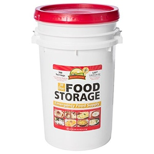 Emergency Food Supply Preparedness Meals- Lightweight Portable Survival Buckets- MSG Free 20 Minute Preparation Add Water Enjoy- Be Prepared For Coming Days Ahead- Feed Family 4 For One Week