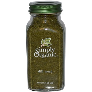 Simply Organic, Dill Weed, 0.81 oz (23 g) Simply Organic, Dill Weed, 0.81 oz (23 g)
